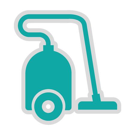 vac: vaccum cleaner isolated icon design, vector illustration  graphic
