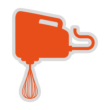 electric mixer: electric mixer isolated icon design, vector illustration  graphic