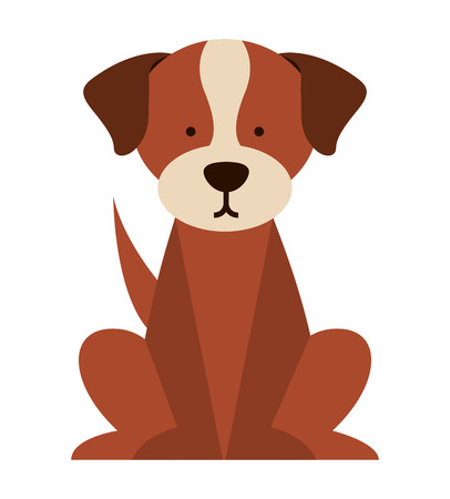 pup: cute dog isolated icon design, vector illustration  graphic