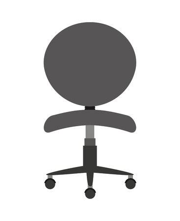 office chair isolated icon design, vector illustration  graphic