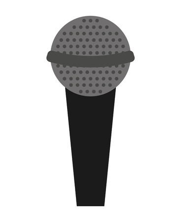 microphone stand: microphone stand isolated icon design, vector illustration  graphic