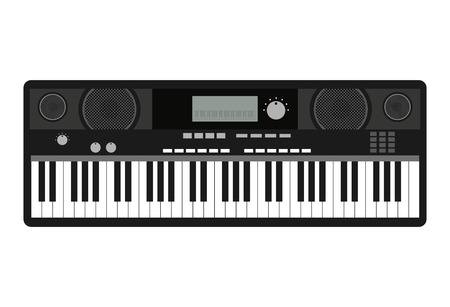 instrument panel: synthesizer isolated icon design, vector illustration  graphic Illustration