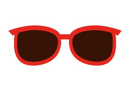 wayfarer: sunglasses fashion isolated icon design, vector illustration  graphic