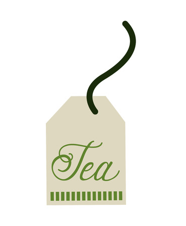 english culture: tea bag  isolated icon design, vector illustration  graphic