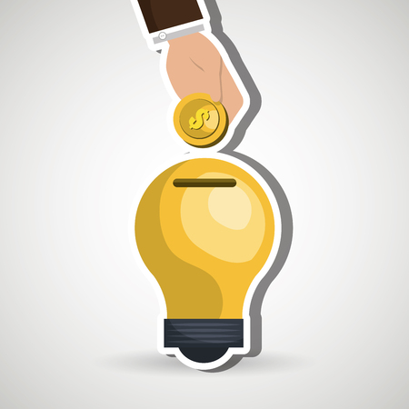 funding concept design, vector illustration eps10 graphic Illustration