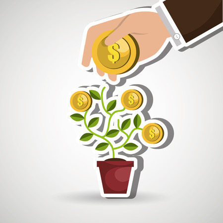 funding concept design, vector illustration eps10 graphic Illustration