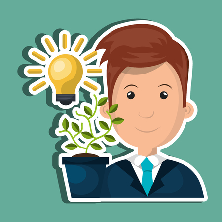 shareholder: funding concept design, vector illustration eps10 graphic Illustration