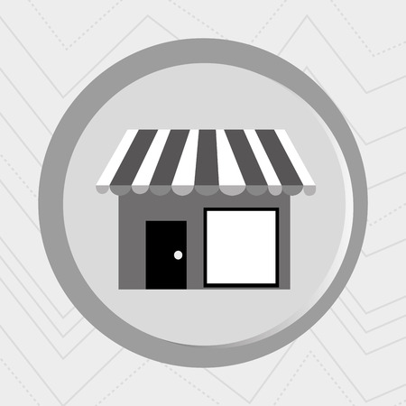 oncept: Business internet online ecommerce buy store isolated, vector illustration