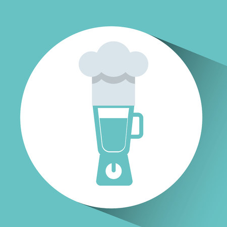 utensilios de cocina: utensilios de cocina utensilios de cocina aparato mezclador de alimentos aislados, ilustración vectorial Vectores