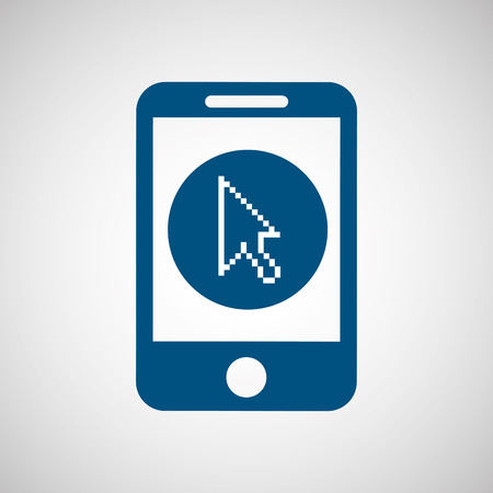 consumer: technology app connection weareable isolated, vector illustration