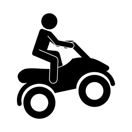 x sport: motorcycle extreme isolated icon design, vector illustration  graphic