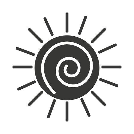 consumer: sun  isolated icon design, vector illustration  graphic