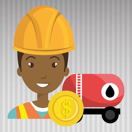 trabajador petroleros: dragón de la diversión