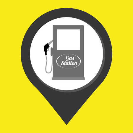 catalyst: gasoline signal isolated icon design, vector illustration  graphic