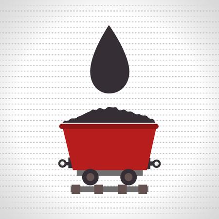 gold mine: mining isolated icon design, vector illustration  graphic