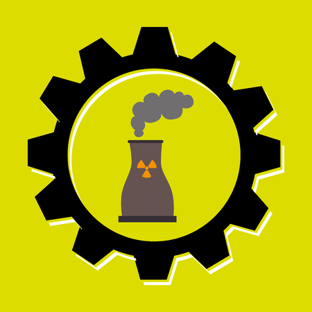 signal of reactor isolated icon design, vector illustration  graphic Illustration