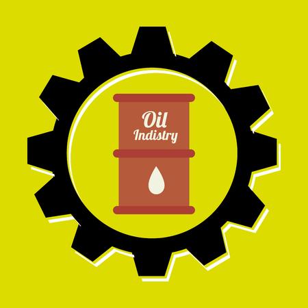 signal of barrel oil isolated icon design, vector illustration  graphic Illustration
