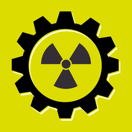 signal of radiation isolated icon design, vector illustration  graphic Illustration