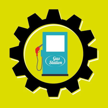 airbag: signal of gasoline isolated icon design, vector illustration  graphic