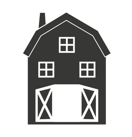 stable: stable farm isolated icon design, vector illustration  graphic