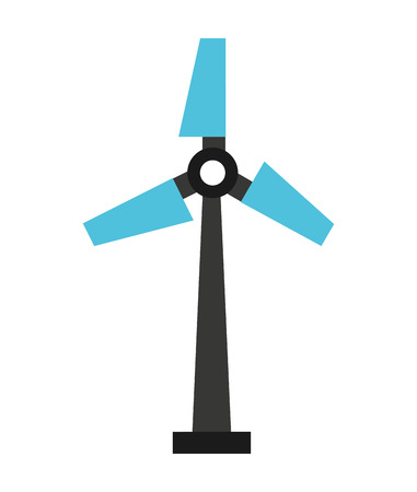 windmill silhouette isolated icon design vector illustration