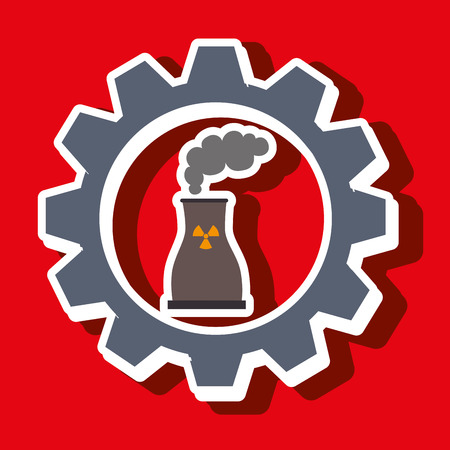 reactor: signal of reactor isolated icon design, vector illustration  graphic Illustration