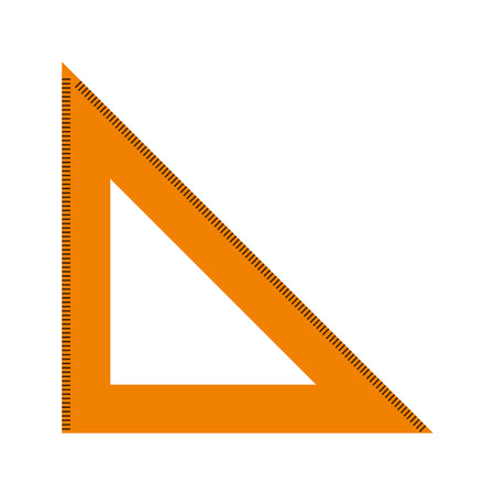 rule triangle isolated icon design, vector illustration  graphic Illustration