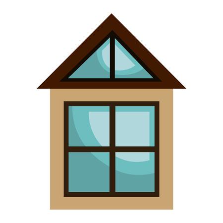 real estate business: Real estate business isolated icon, vectorillustration graphic design.