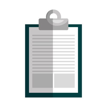 ir: Paper, pager ir note isolated flat icon, vector illustration graphic design.