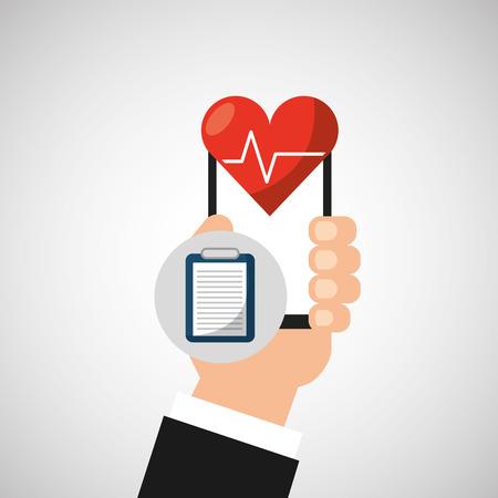 intern: healthcare medical health isolated, vector illustration