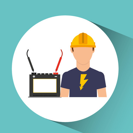 energy distribution: electrical energy power icon, vector illustration eps10 Illustration