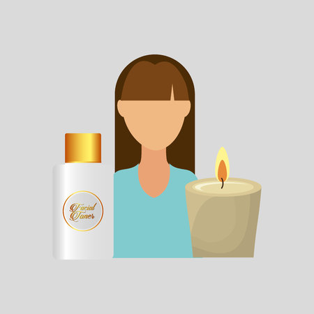 bath treatment: therapy with spa treatment icon, vector illustration