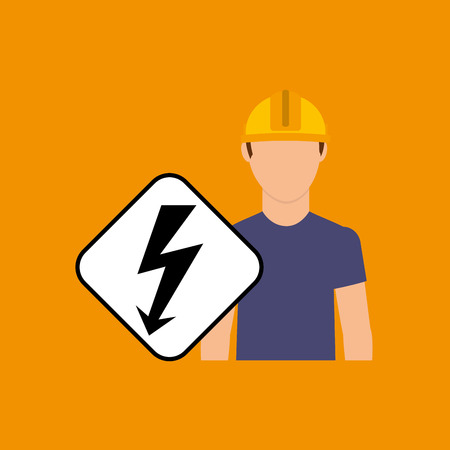 engineering plugging electricity power icon, vector illustration