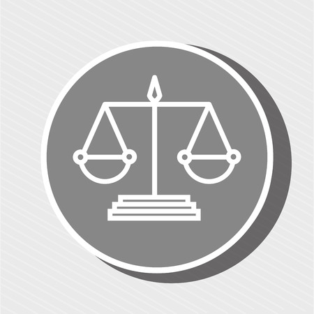 tribunal: symbol of justice isolated icon design, vector illustration  graphic