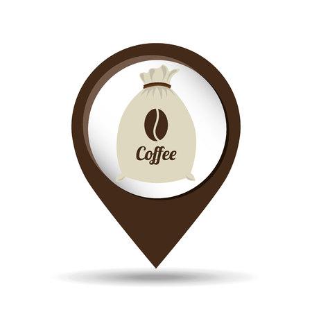 cafe colombiano: bandera concepto de servicios log�sticos y de mensajer�a de entrega. trabajadores del almac�n. Ilustraci�n del vector en el dise�o de estilo plano. Hombre de salida en un pedidos de comida env�o scooter.
