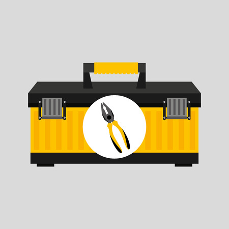 Wire Stripper and construction tool icon, vector illustration Illustration