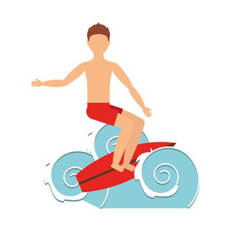 x sport: surfing isolated icon design, vector illustration  graphic Illustration