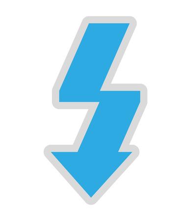 auto focus: photographic flash symbol isolated icon design, vector illustration  graphic