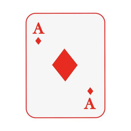 straight flush: poker card isolated icon design, vector illustration  graphic