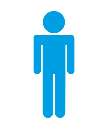 human figure  isolated icon design, vector illustration  graphic
