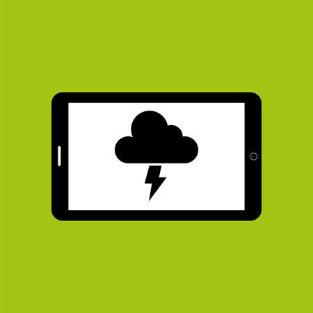 climate: climate cloud weather nature isolated, vector illustration eps10 Illustration
