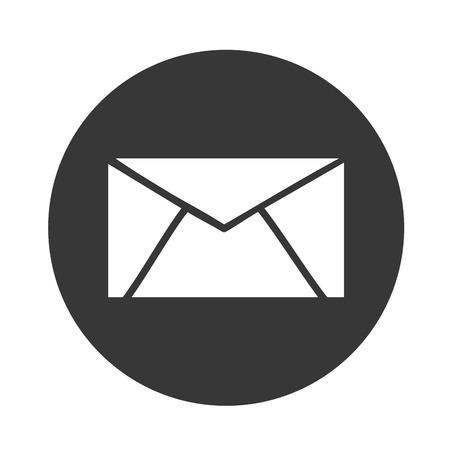 vector message: email symbol vector, message norte vector illustration