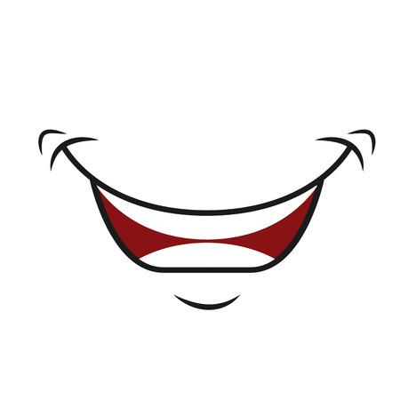 monta�as caricatura: feliz de dibujos animados icono de montar, car�cter del vector illustation Vectores