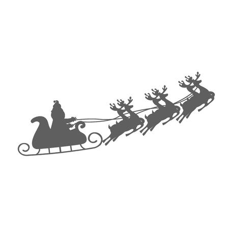merry chrismas: merry chrismas icon xmas illustration design vector Illustration