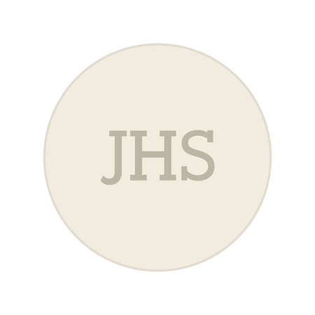 sacraments: first communion jhs icon graphic isolated vector