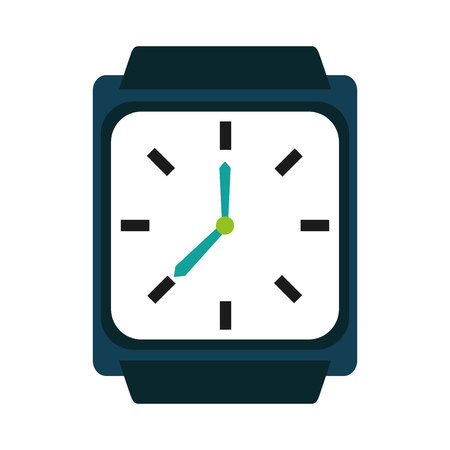 synchronization: watch smart wearable icon  graphic isolated vector