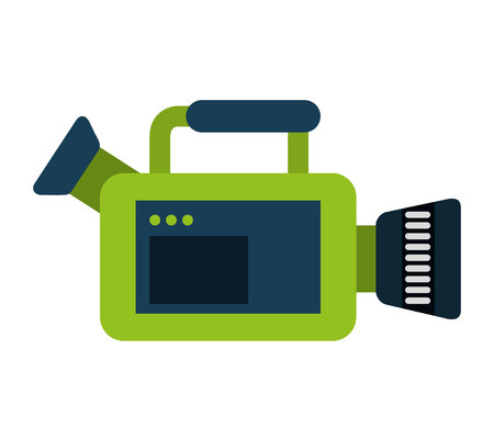 cine: video camera film icon  graphic isolated vector