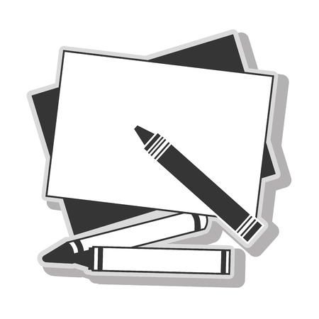 coloring sheets: rayols drawing art in black and white colors, isolated flat icon. Illustration