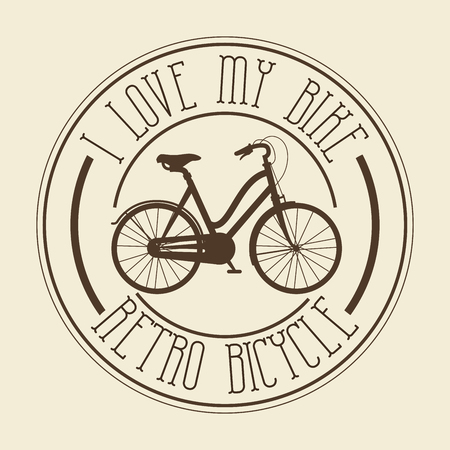 cru vélos isolé icône design, vecteur illustration graphique