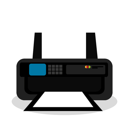 printer ink: printer ink isolated icon design, vector illustration  graphic